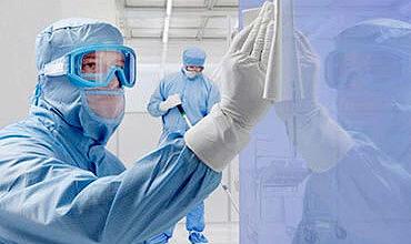 Teste de verificação da eficácia do BVB (Barreira viral respirável) na proteção do profissional da saúde contra fluídos.